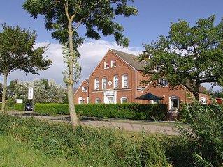 Ein exklusives, 5 Sterne zertifiziertes Ferienhaus im Herzen Ostfrieslands