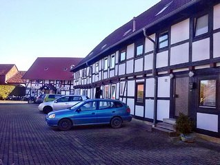5 Bett Fewo nahe der alten Kaiserstadt Goslar. Ideal für Motorradfahrer