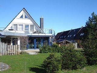 Exklusives Ferienhaus mit Sauna, Kamin, Terrasse, Garten