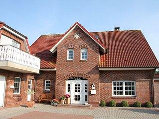Haus am Park Komfortable Ferienwohnung im Luftkurort Werdum bei Neuharlingersiel