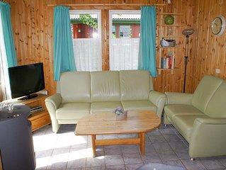 Gemutliche Ferienhaushalfte im skandinavischen Stil fur 5 Personen mit Sauna