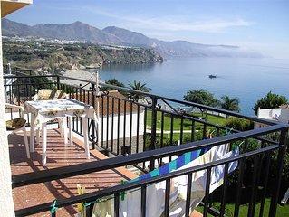Centrum und Strandnahes Apartment mit herrlichem Blick auf Meer und Berge