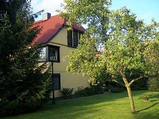 1840 erbautes Fachwerkhaus mit renovierten Ferienwohnungen **** & grossem Garten