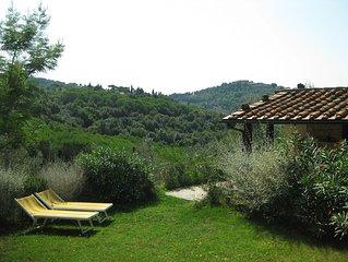 'Piccola' gepflegtes Hauschen, Garten, Meerblick,  6 km zum Meer