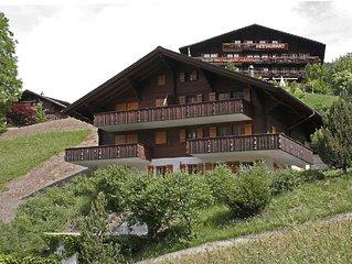 Gepflegte 3 Zimmer-Wohnung mit Sicht auf den Gletscher