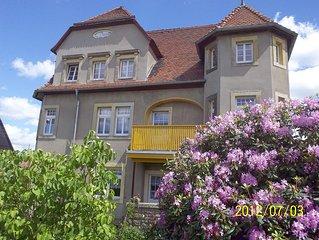 Gemutliche, komfortable Ferienwohnung mit Garten und Balkon, Lilenstein, Bastei