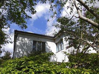 Ah, Villa West in grüner Berliner  Innenstadt,  wartet zeitweise auf liebe Gäste