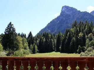 ♥ Luxus-Ferienwohnung in Bestlage mit Panorama-Blick in die Berge ♥ 90 qm ♥