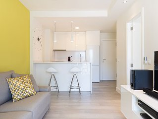 Totally renovated 1BR with en-suite bathroom