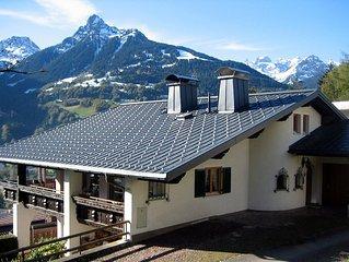 Apartment Josef Marent with stunning panoramic views of Schruns