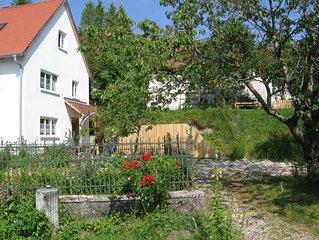 Ferienhaus in idyllischer Ortsrandlage direkt am Lech
