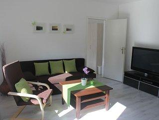 Modern eingerichtete Ferienwohnung mit Charme.