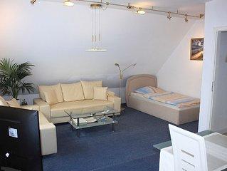 Ferienwohnung St. Jurgen 1, 52 qm, 1 Schlafzimmer, 1 Wohn-/Schlafzimmer, max. 4