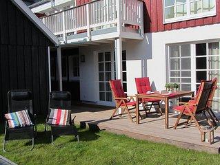 Luxuriose Ferienwohnung in Top Lage in Greetsiel mit eigenem Whirlpool und Kamin