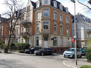 Jugendstilhaus mit liebevoll ausgestatteten Ferienwohnungen.