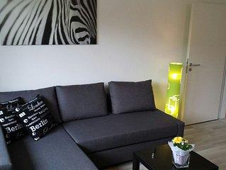 Schicke 51qm Wohnung in sehr beliebter Stadtrandlage mit Ausblick ins Grune