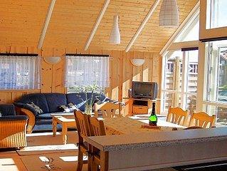 Komfort-Ferienhaus mit Internet, Sauna & Strandkorb am Ostseestrand
