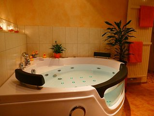 arrive - feel good - relax / private jacuzzi and fireplace