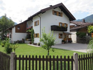 The apartment is located in the beautiful Werdenfelser country at the Zugspitze.