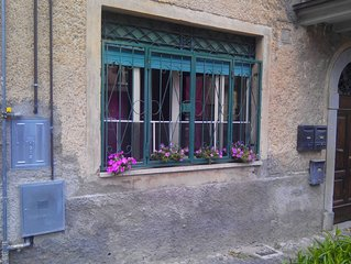 Cute little apartment with garden in the heart of Bolsena