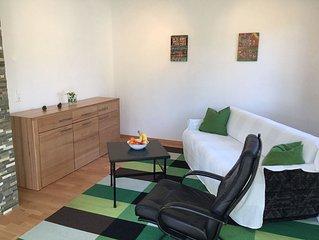 Ferienhaus Donaucity, ganzes Haus 4 Zimmer, 4 Betten Garten