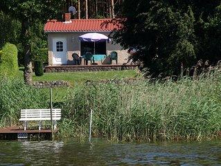 Ferien am See mit Boot und Fahrrädern all inclusiv