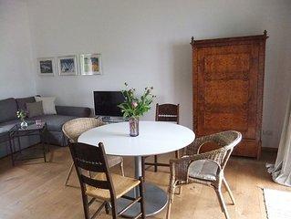 Charmantes Galerie-Studio mit Terrasse und unverbautem Gebirgs- und Moosblick