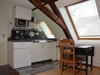 Ortskern Dachstudio 2 Minuten zur Drosselgasse Rüdesheim am Rhein