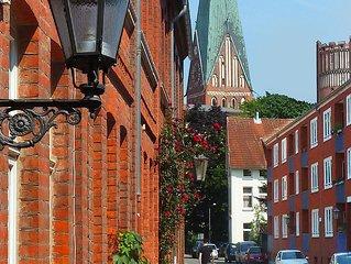 Neue Ferienwohnung nähe der Ilmenau mitten in der Stadt