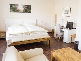 Modernes & bequemes Apartment, 127 qm, eigener Eingang, Blick auf die Natur