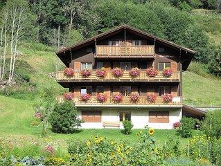 Grosse Ferienwohnung in den Walliser Bergen in Fiesch