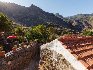 Casa La Pintora, strandnah, Garten, wandern im Naturpark, max. 2Personen +1Kind