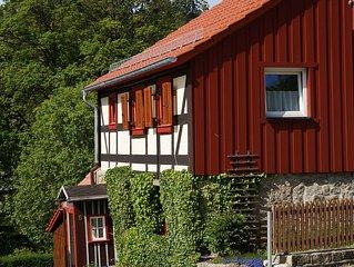 Rental Harzreise - Goethe House at the foot of the Brocken