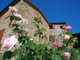 Tuscan holiday home near the sea between Siena, Florence and Pisa