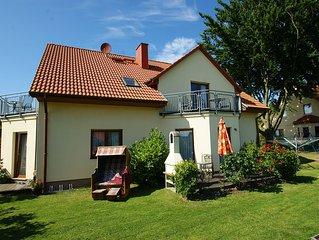 4**** Ferienwohnung zum Wohlfuhlen, 5min z. Strand - WLAN - Sud Balkon - Sauna