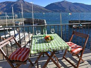 großzügige Fewo für 2-4 Personen direkt am See mit Balkon