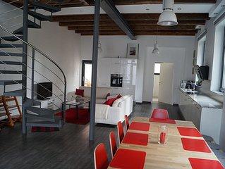 Renovierte Werkstatt als Einzelhaus für bis 7 Personen im historischen Zentrum