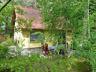 gemuhtliches Ferienhaus im Wald & Seenahe