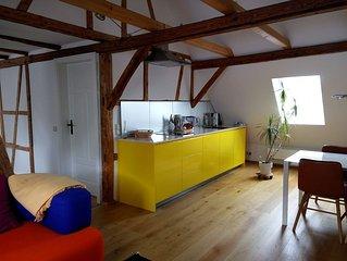 Stilvoll renovierte Dachgeschoß-Wohnung in Gönningen
