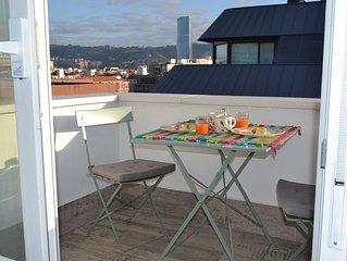 Schicke kleine Wohnung im Zentrum von Bilbao fur einen besonderen Urlaub