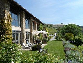 Ruhe und Genuss - ausgesuchtes Design & Ausstattung -  in der Wein/Gourmetregion