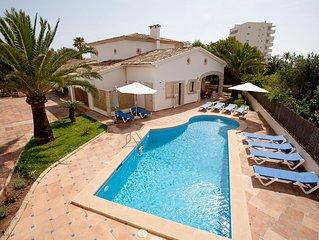 Dorada - Hübsches Ferienhaus mit Pool im Zentrum von Sa Coma