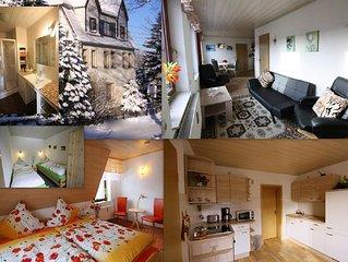 Ferienwohnung mit Panoramablick zum Fichtelberg