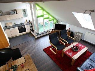 Willkommen am Brocken im Maisonetten Apartment mit Sudbalkon