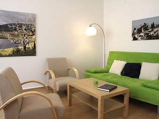 Modern and friendly 3-bedroom apartment with beautiful garden