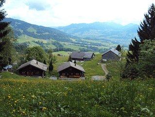 Amidst the ski and hiking area Bodele