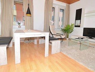 Schone, modern moblierte Stadt-Wohnung im Jugendstil Haus