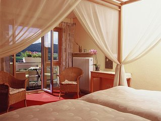 Traumhaft schone Ferienwohnung in Sudhanglage mit schonem Ausblick auf die Berge