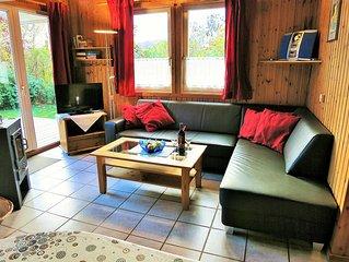 Gemutliches und Komfortables Ferienhaus mit Sauna und Kamin sowie WLAN.