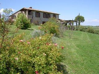 Casa Francesca Wohnung Rosmarin, atemberaubender Panoramablick, traumhafter Pool